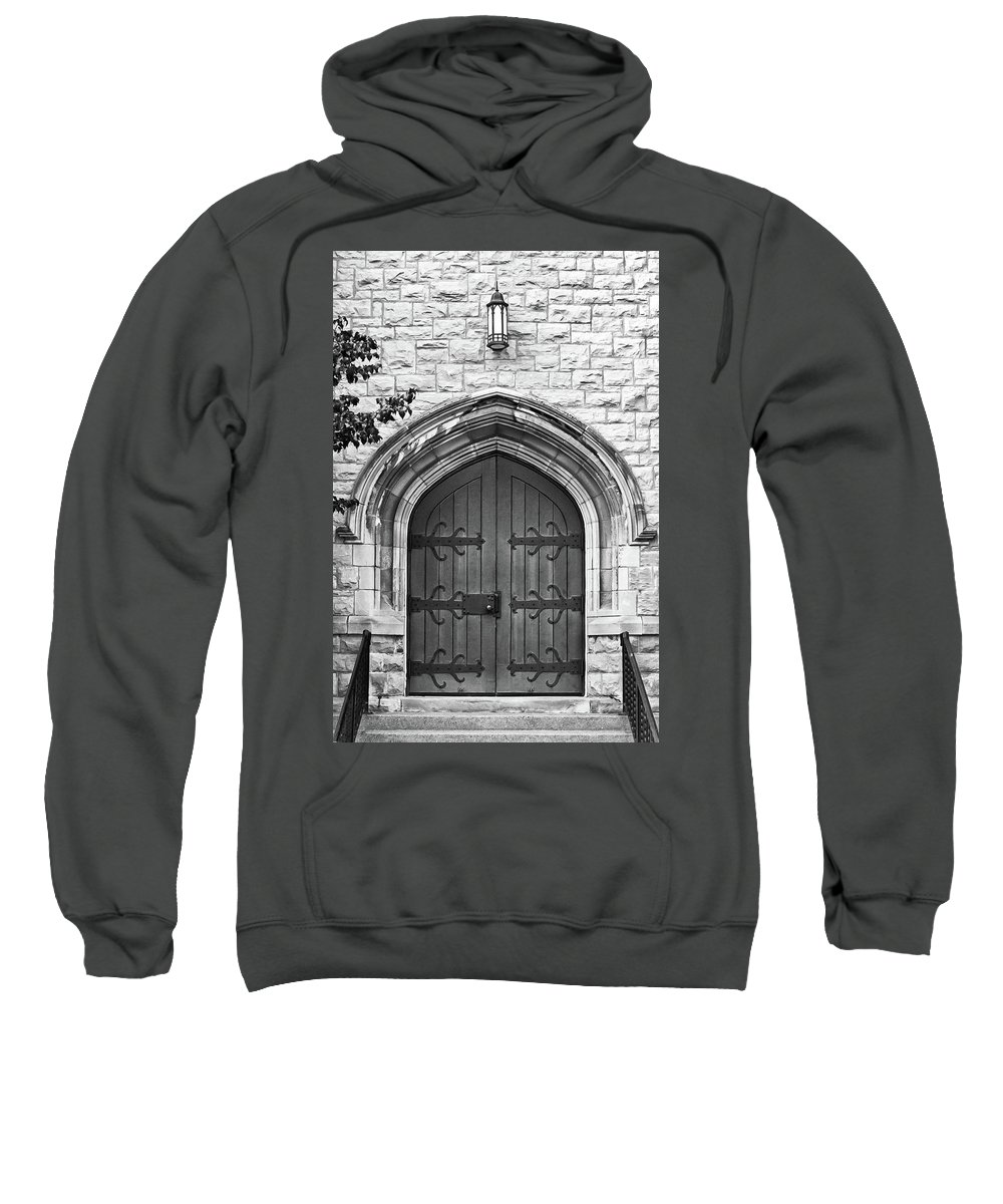 Buildings Sweatshirt featuring the photograph All Saints 8333 by Guy Whiteley