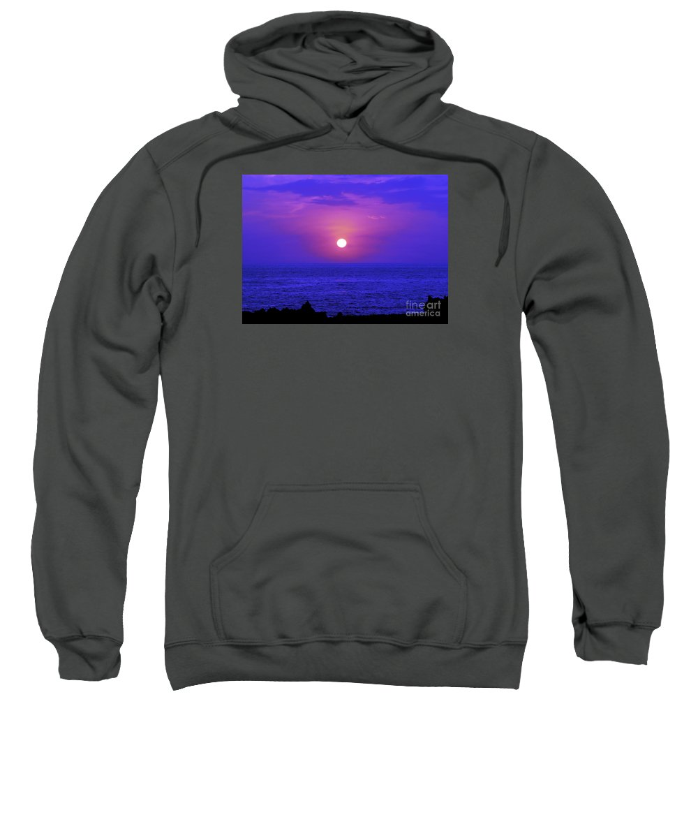 Fine Art Photography Sweatshirt featuring the photograph Aloha Iv by Patricia Griffin Brett