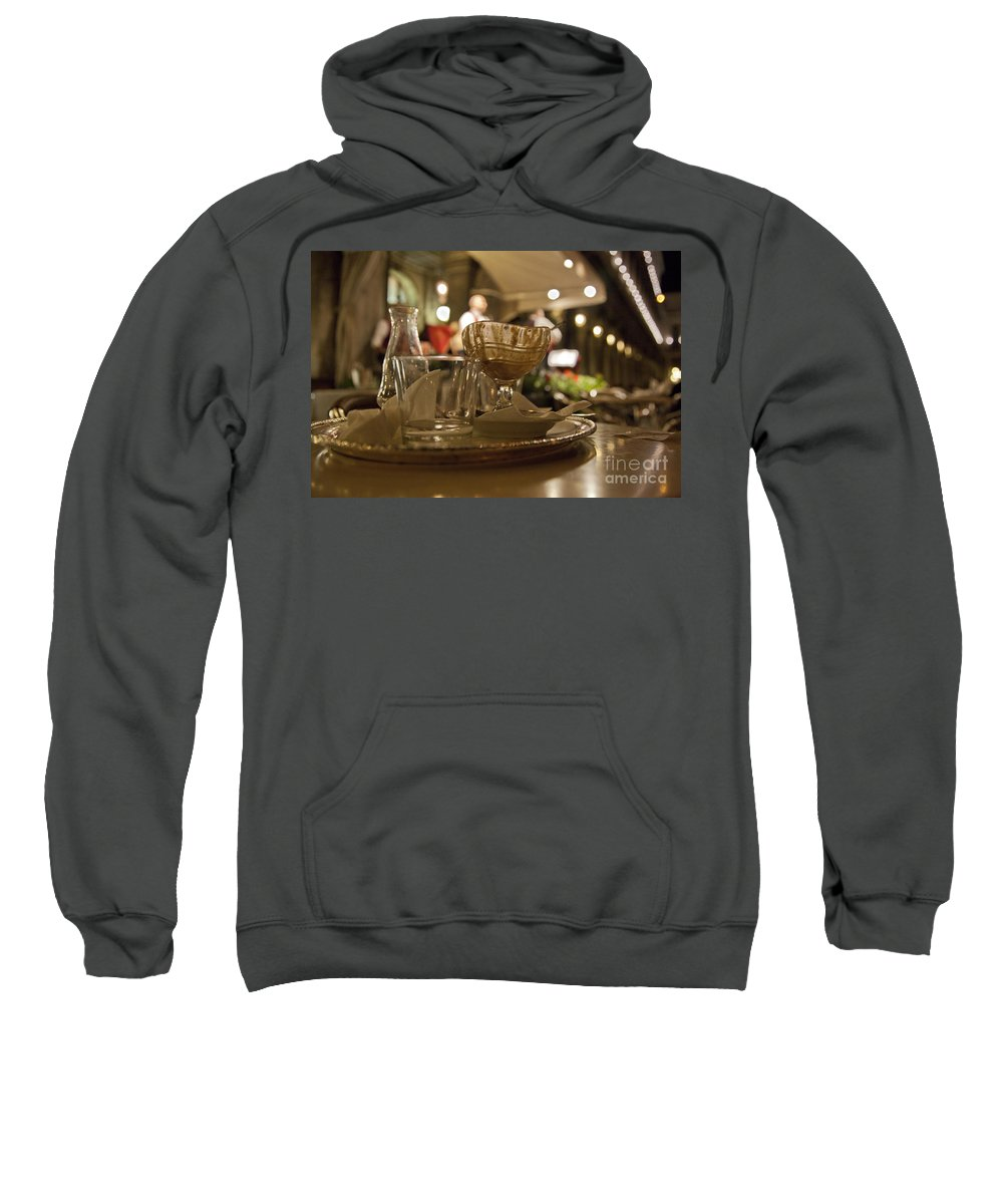 Still Life Sweatshirt featuring the photograph Another Gelato Please by Madeline Ellis