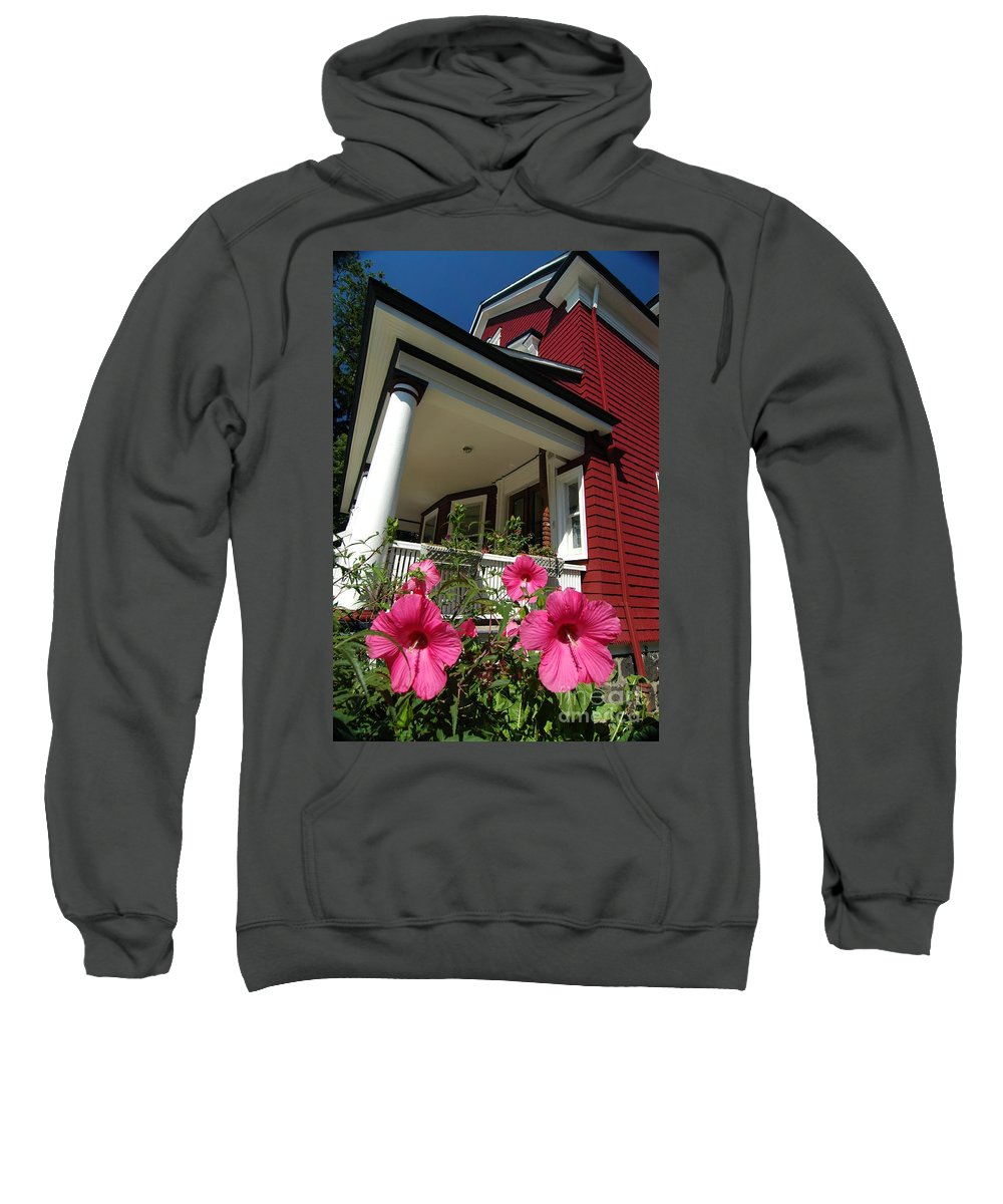 House Sweatshirt featuring the photograph Argyle Road by Mark Gilman