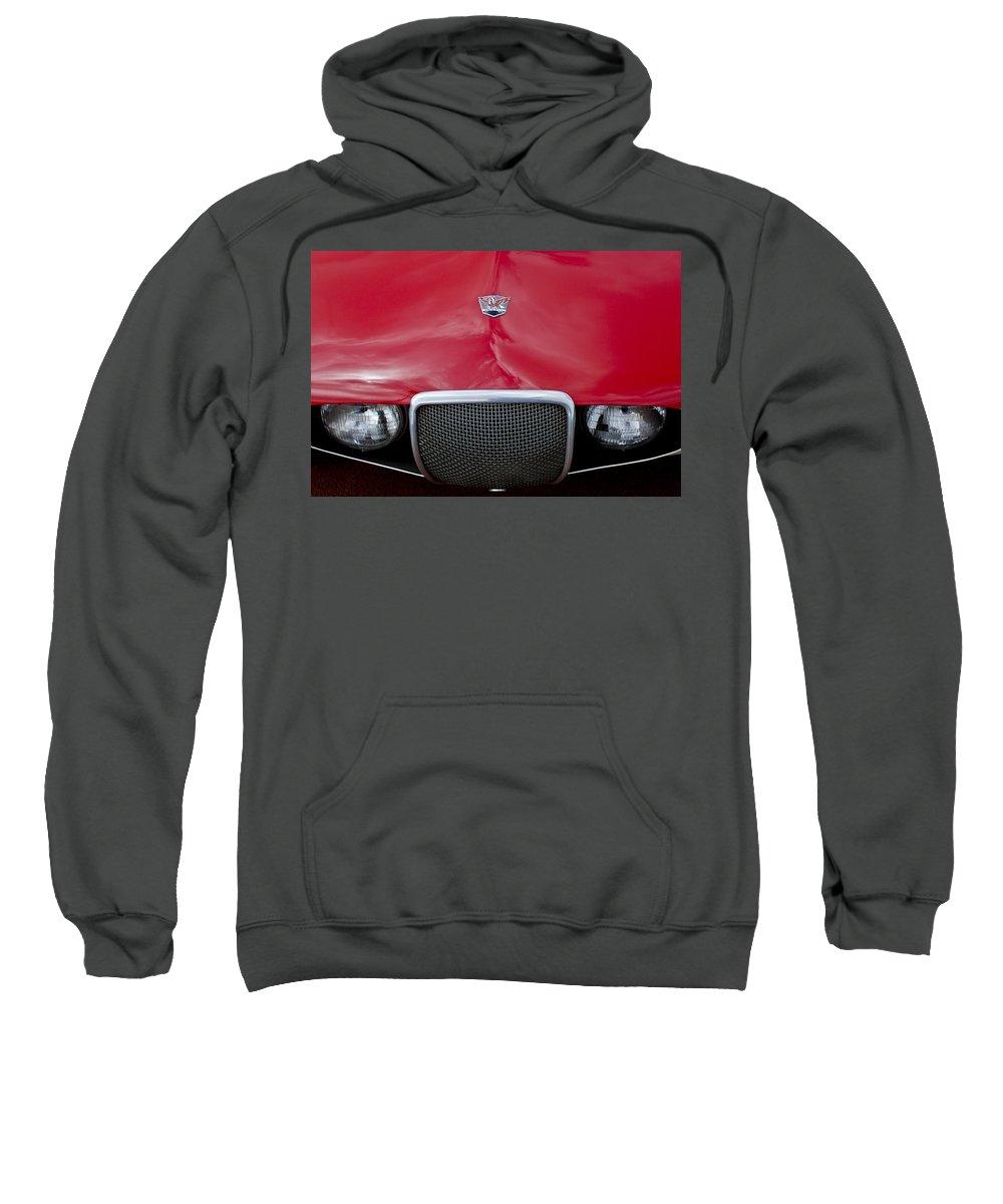 Arnolt Sweatshirt featuring the photograph Arnolt Grille by Jill Reger