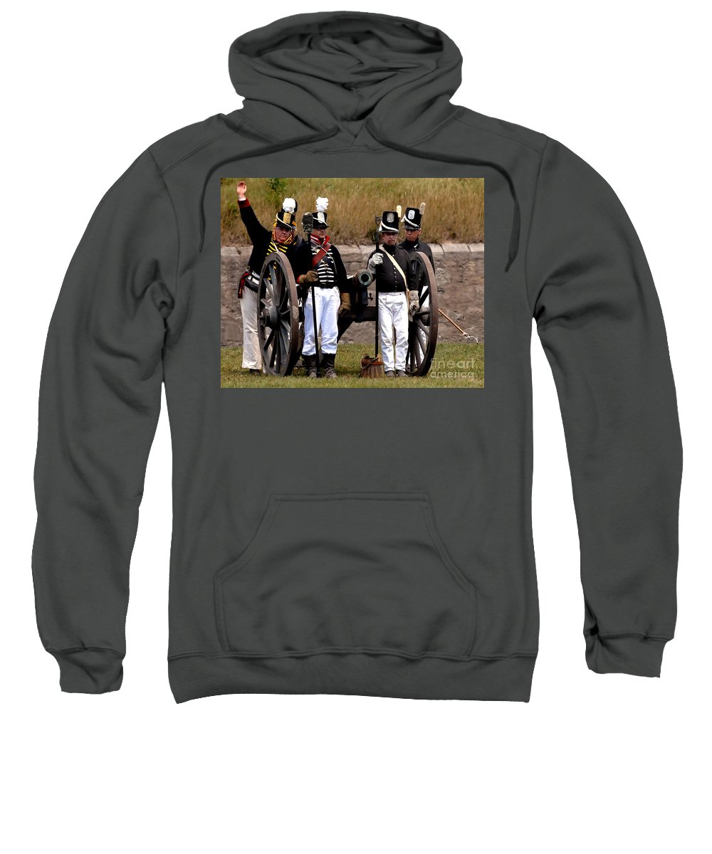 Artillery Sweatshirt featuring the photograph Artillery by JT Lewis