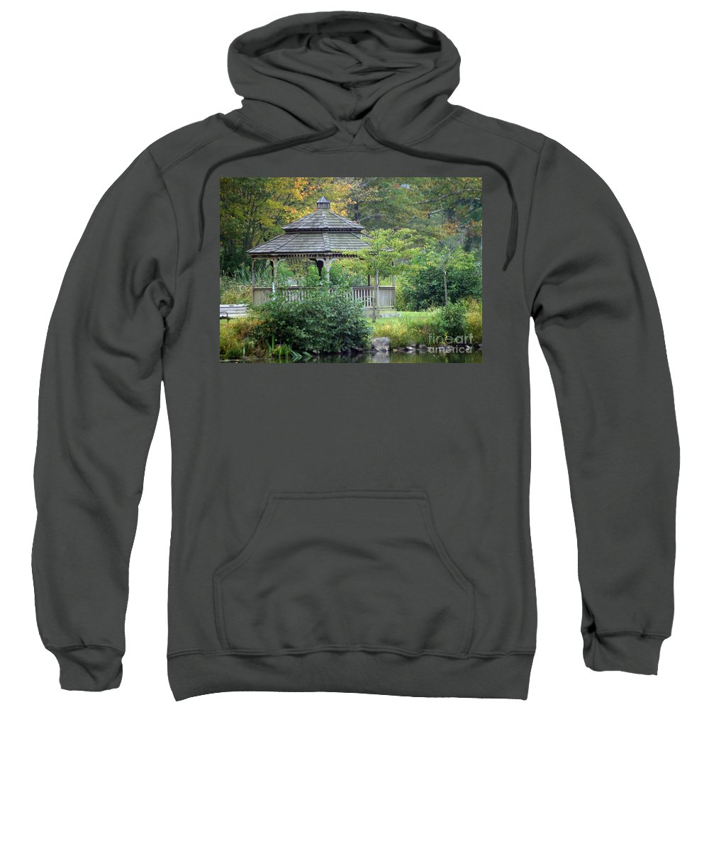 Autumn Sweatshirt featuring the photograph Autumn Days by Living Color Photography Lorraine Lynch