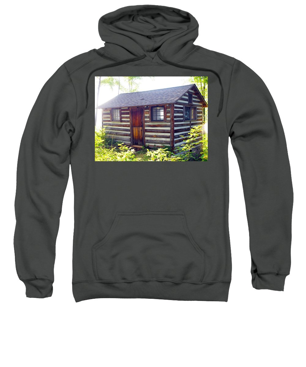 Farm Animals Sweatshirt featuring the photograph Baking In The Sun by Robert Margetts