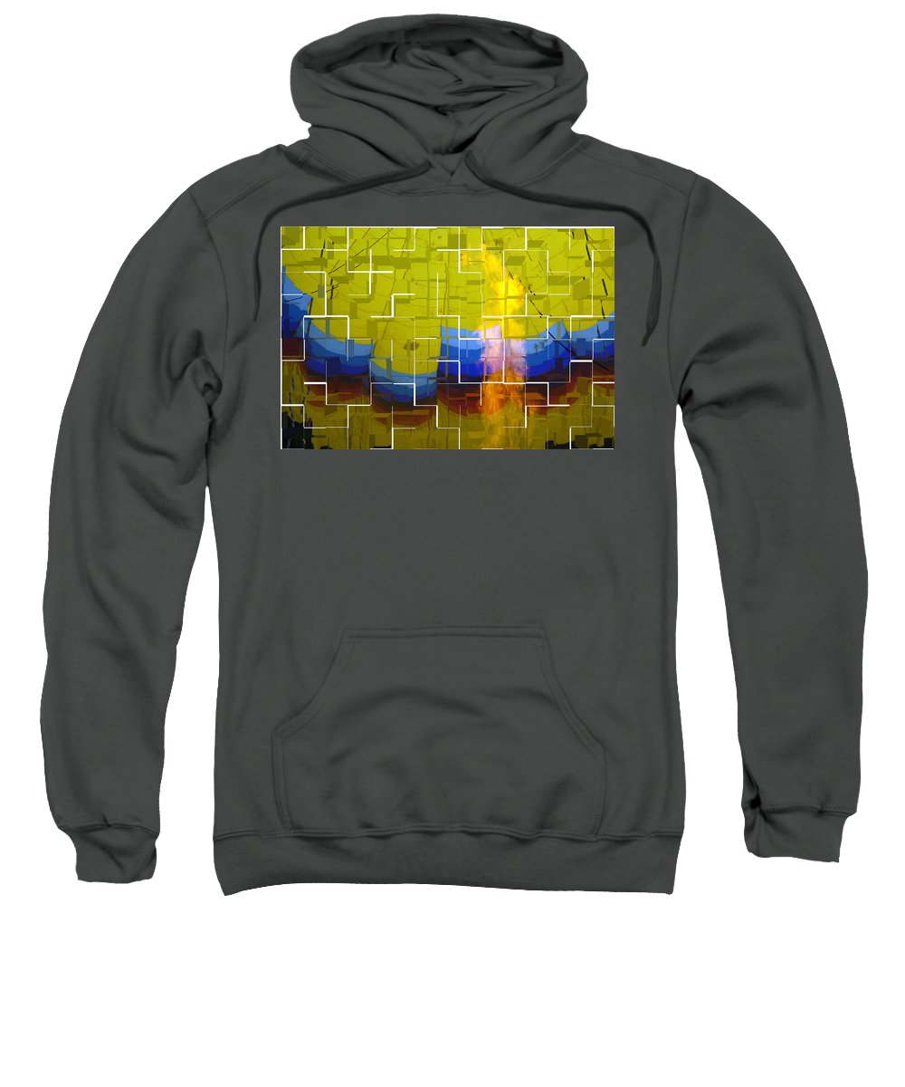 Cubic Sweatshirt featuring the photograph Balloon Cubed by Darleen Stry