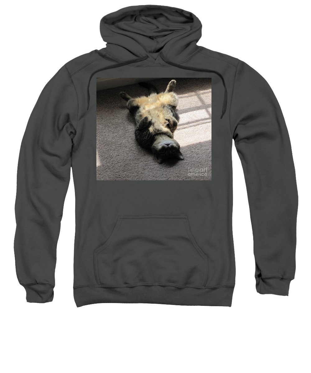 Belly Sweatshirt featuring the photograph Belly Up by Michelle Powell