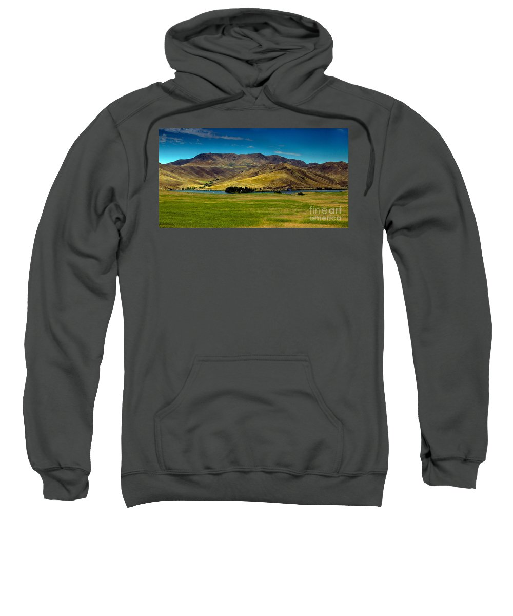 Landsacape Sweatshirt featuring the photograph Black Canyon Reservoir by Robert Bales