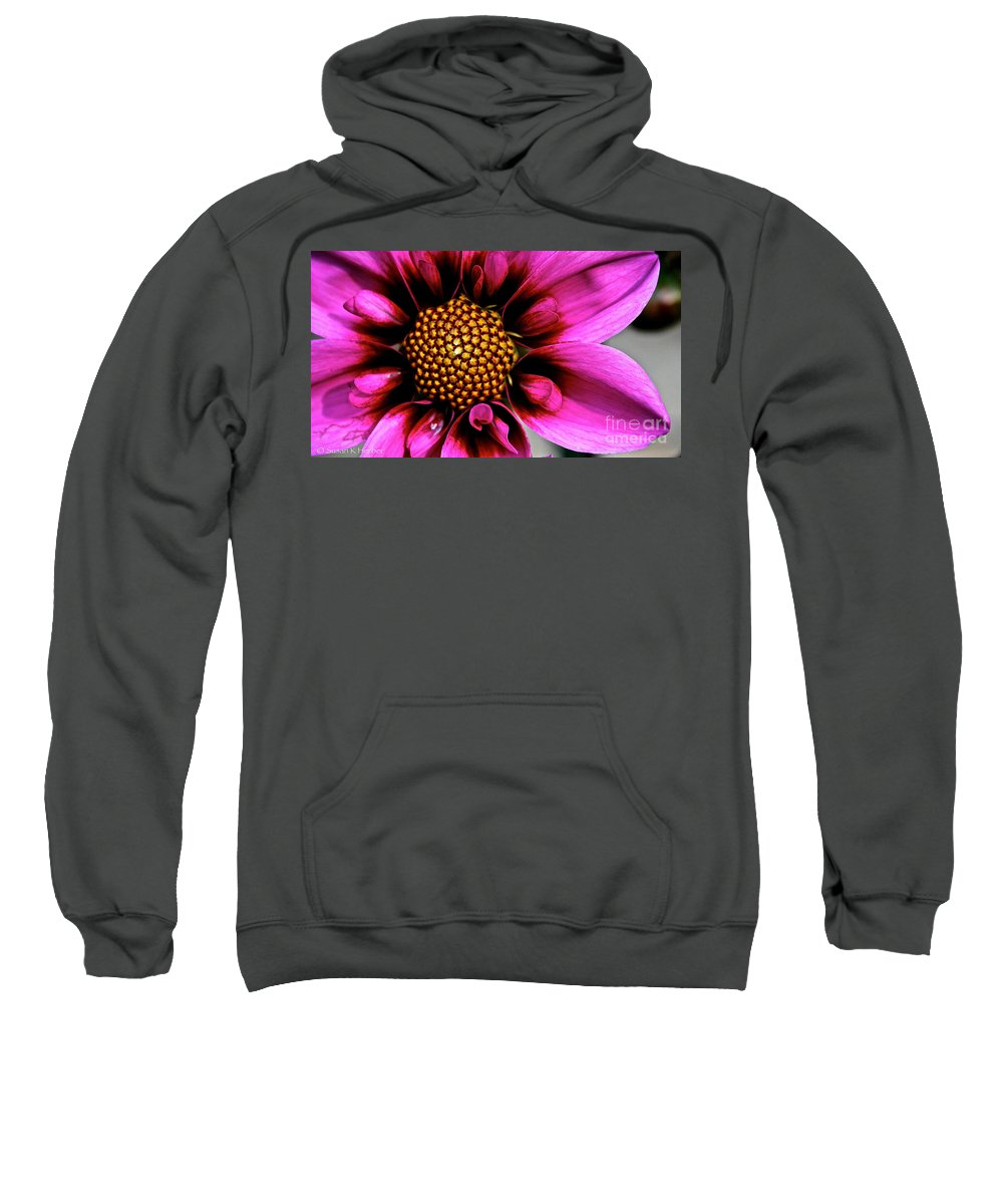 Floral Sweatshirt featuring the photograph Blue Bayou by Susan Herber