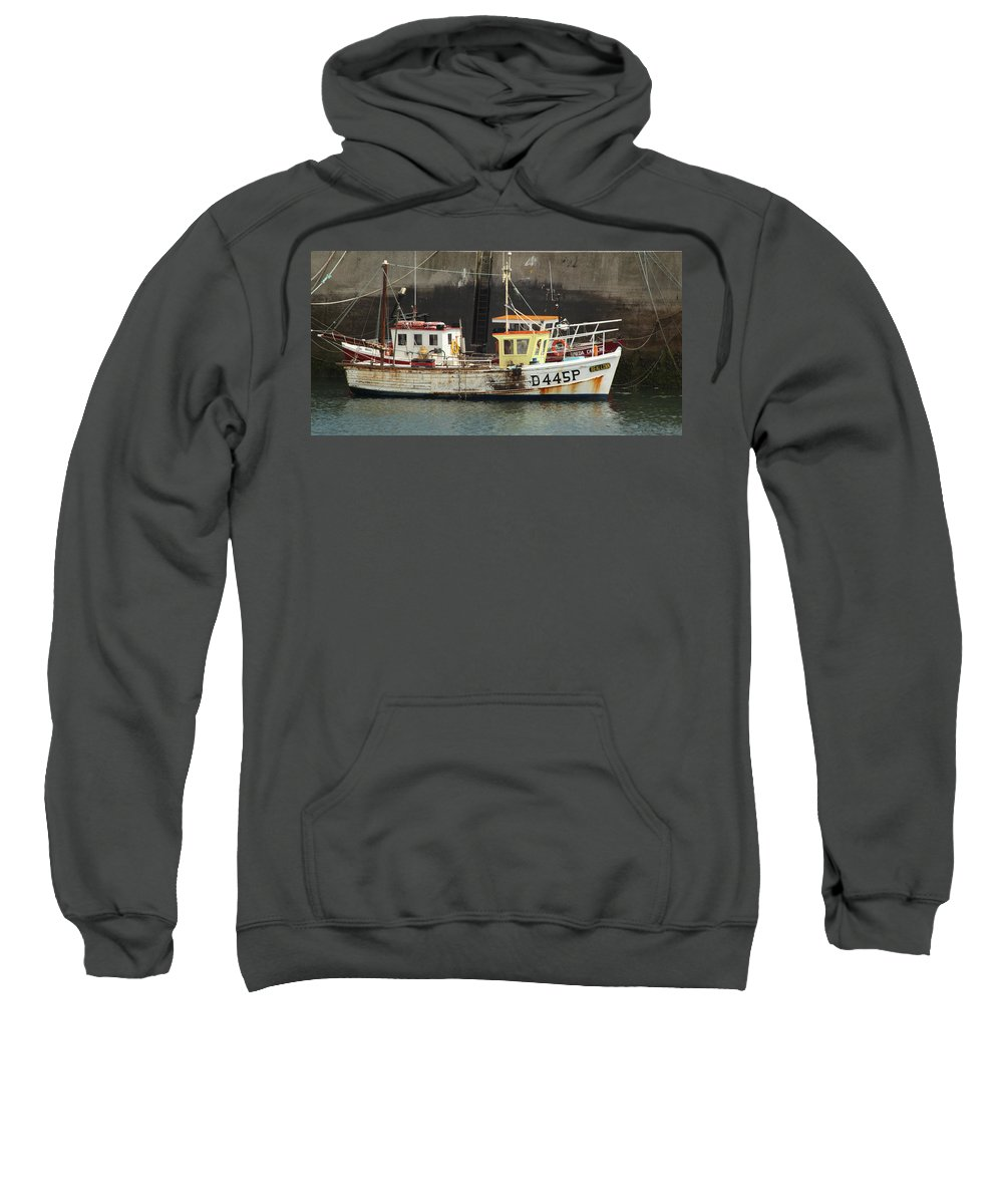 Nautical Sweatshirt featuring the photograph Boat 0002 by Carol Ann Thomas