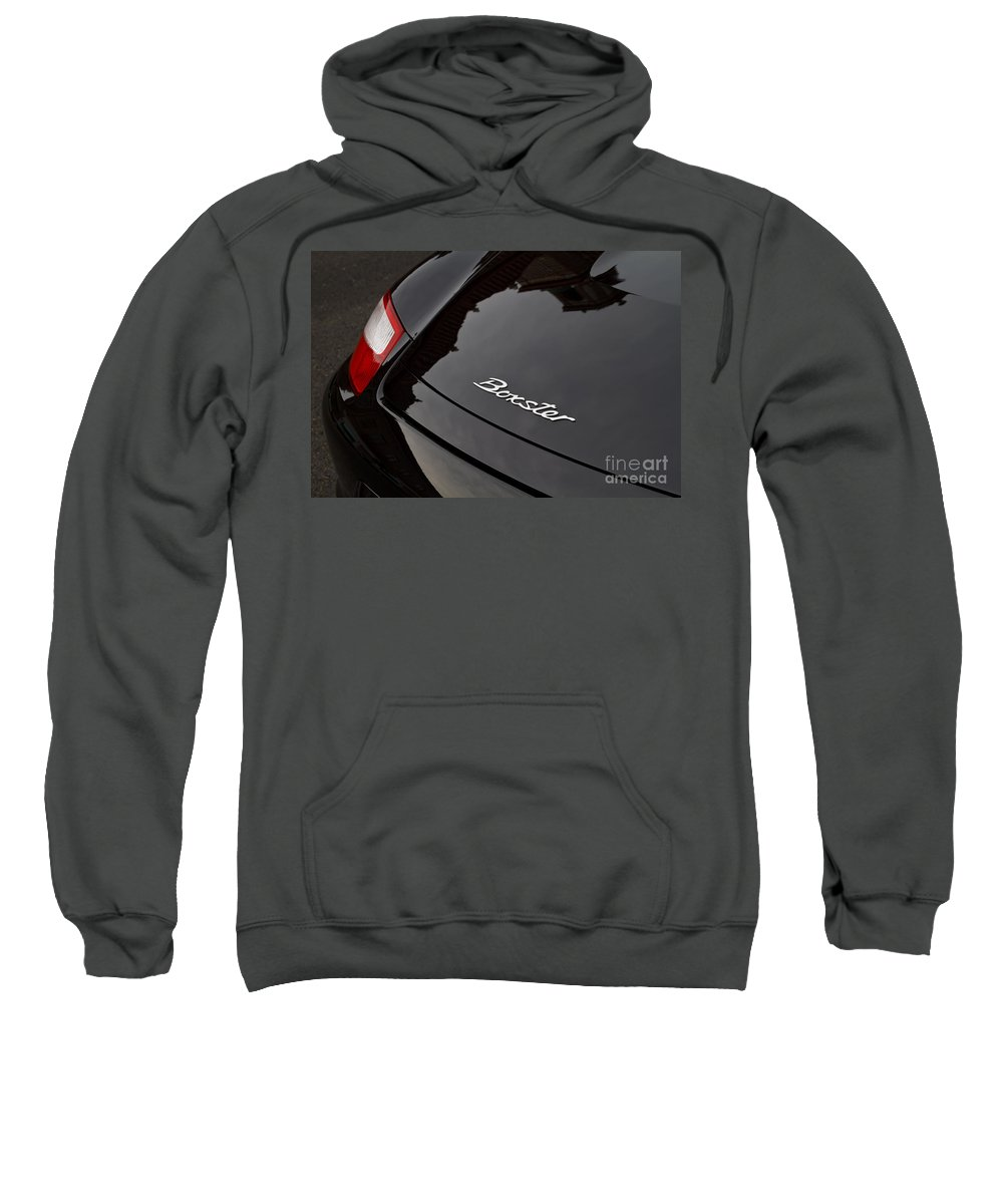 Porsche Sweatshirt featuring the photograph Boxster by Dennis Hedberg