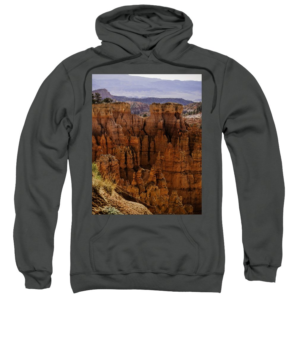 Landscape Sweatshirt featuring the photograph Bryce Canyon 01 by Jo-Anne Gazo-McKim