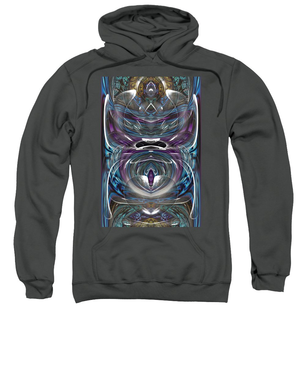 Digital Sweatshirt featuring the digital art Bulassa by Theodore Jones