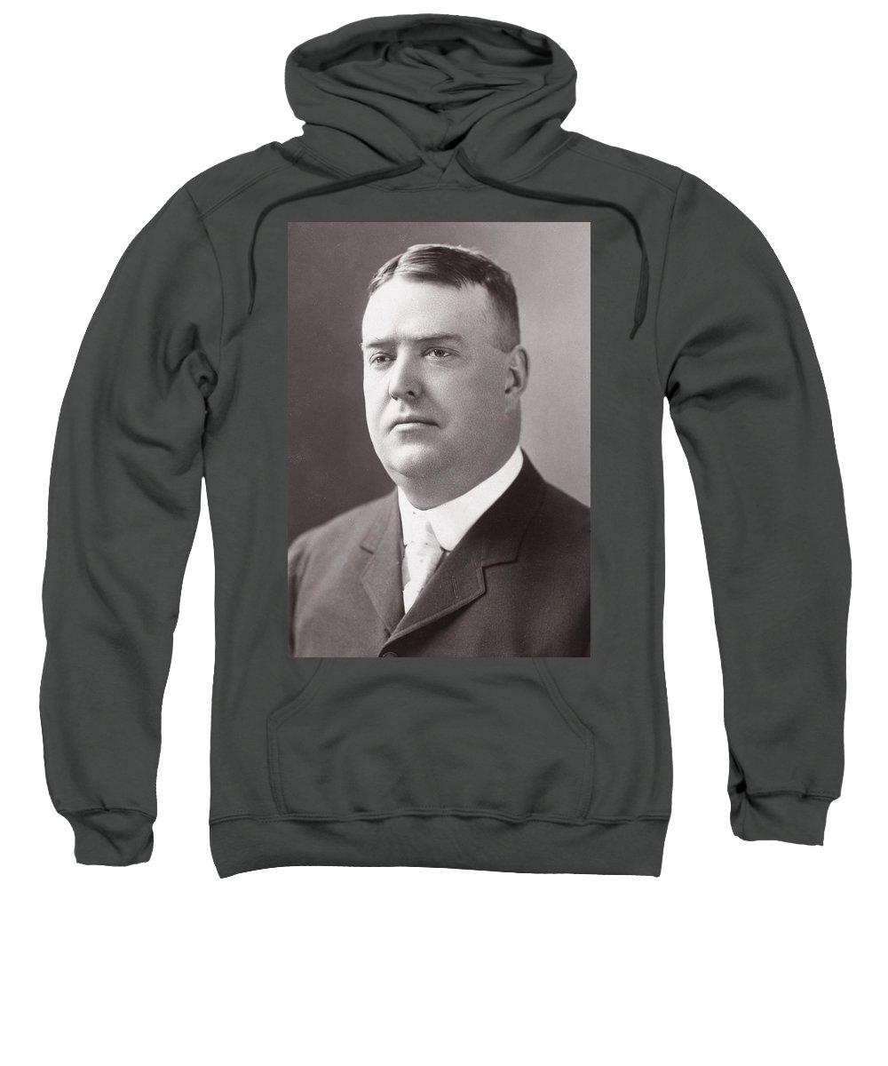19th Century Sweatshirt featuring the photograph Byron Bancroft Johnson by Granger