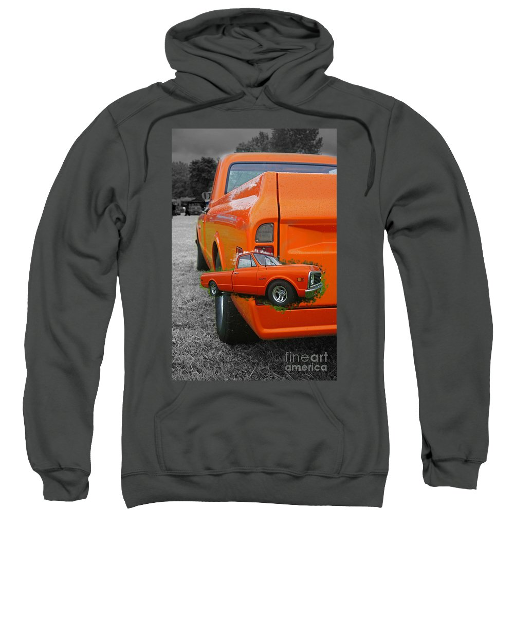 Trucks Sweatshirt featuring the photograph Cadp250a-12 by Randy Harris