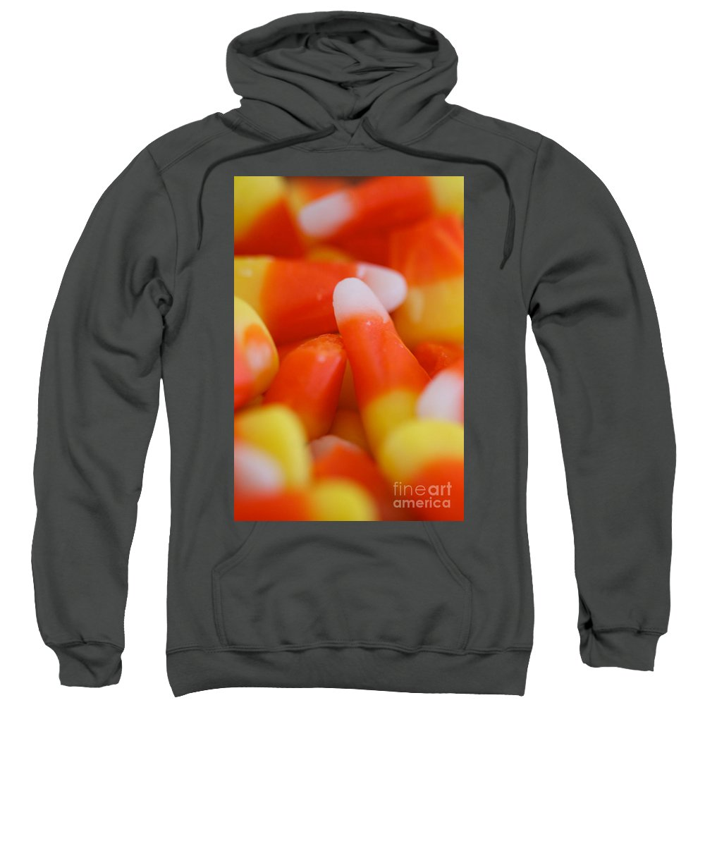 Candy Corn Sweatshirt featuring the photograph Candy Corn One by Brooke Roby
