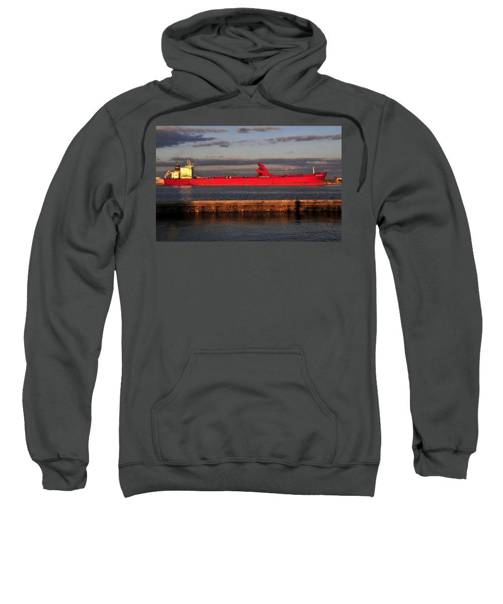 Fine Art Photography Sweatshirt featuring the photograph Captain Eo by David Lee Thompson