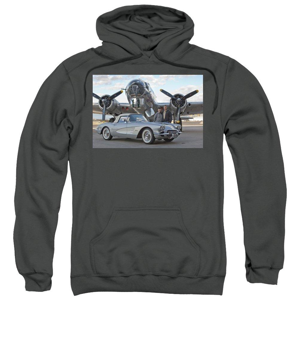 Sweatshirt featuring the photograph Cc 16 by Jill Reger