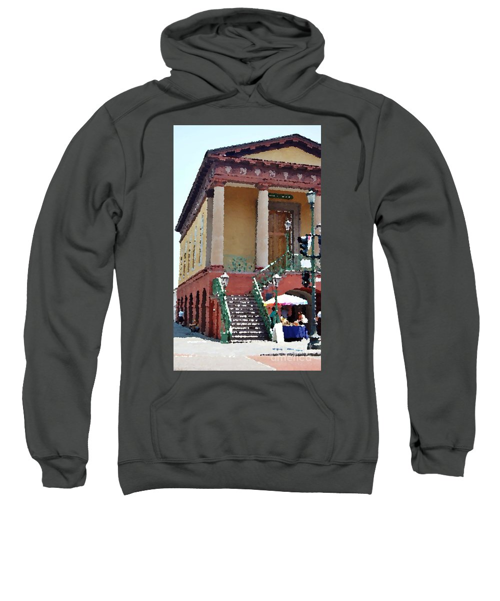 Charleston Sweatshirt featuring the photograph Charleston Market1 by Donna Bentley