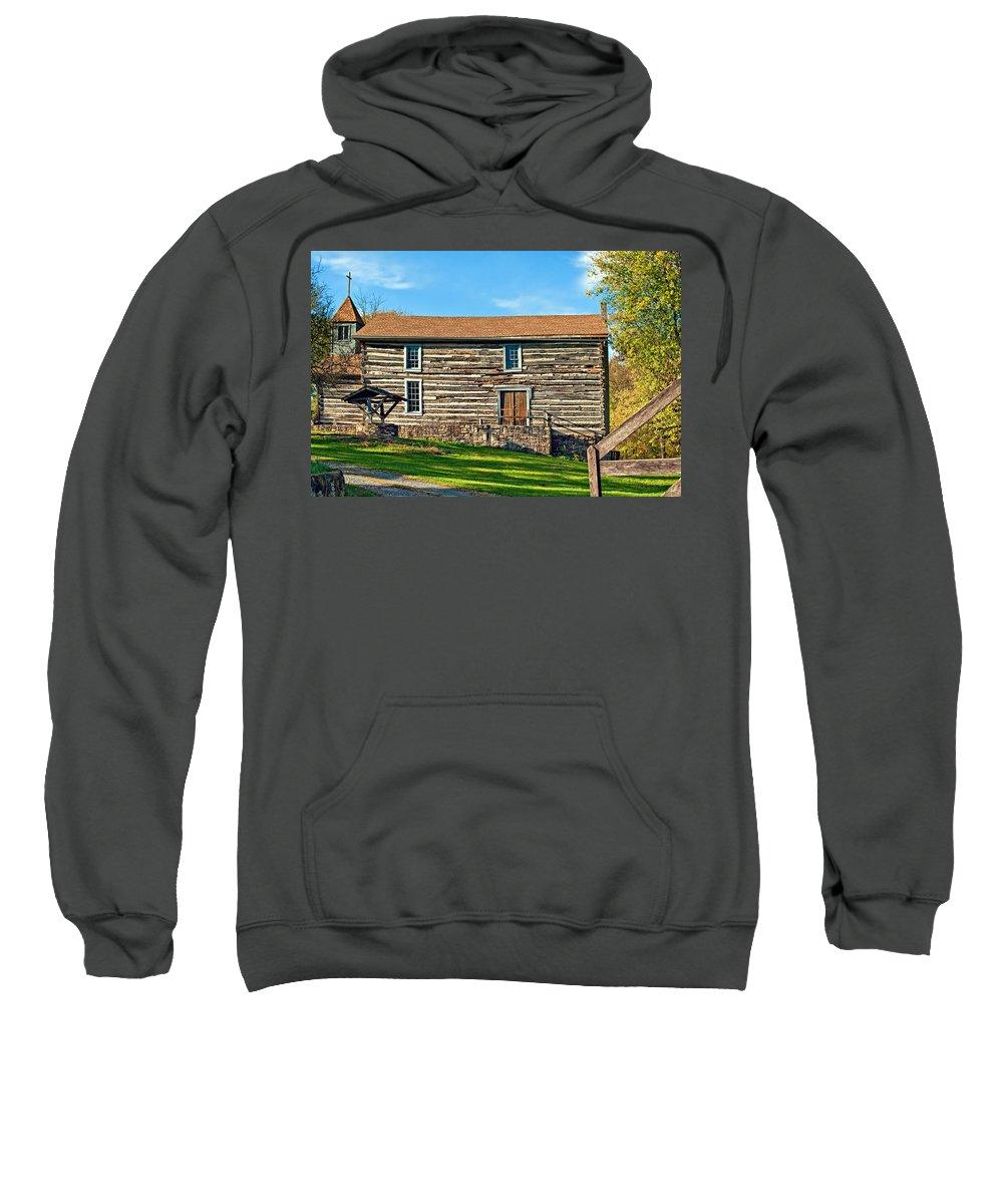 Pennsylvania Sweatshirt featuring the photograph Christ Church by Steve Harrington