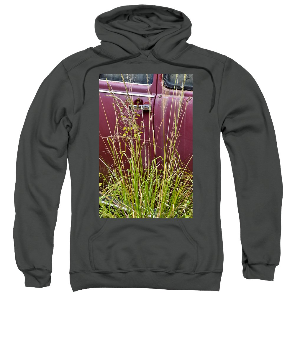 Volkswagen Sweatshirt featuring the photograph Classic Red by Carolyn Marshall