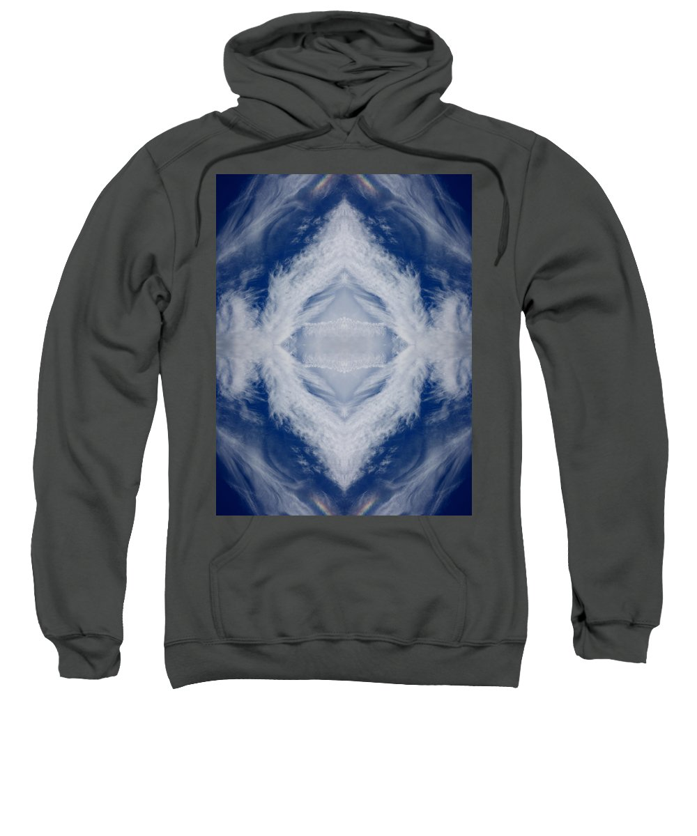 Featherclouds Sweatshirt featuring the photograph Cloud Abstract by Douglas Barnard