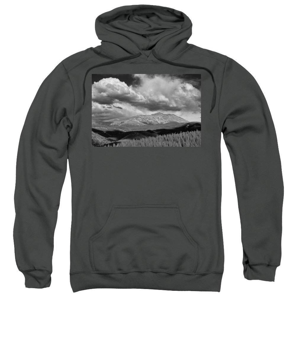 Art Sweatshirt featuring the photograph Clouds Over Breckenridge Colorado by Randall Nyhof