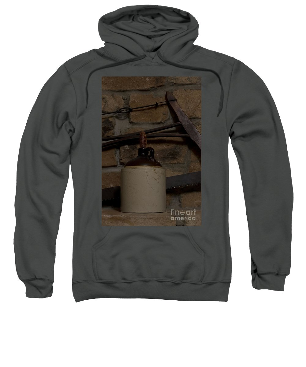 Antique Sweatshirt featuring the photograph Corked White Lightning 9 by Alan Look