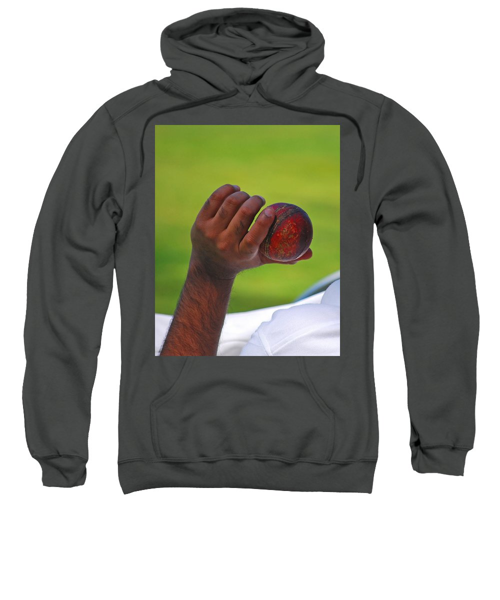 Recreation Sweatshirt featuring the photograph Cricket Anyone by Lisa Phillips