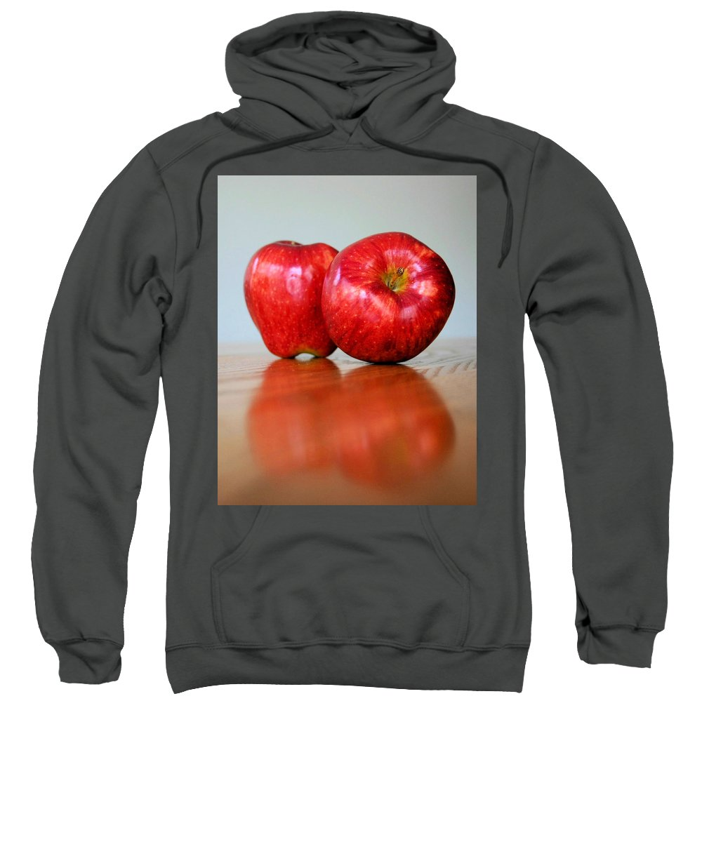 Apple Sweatshirt featuring the photograph Delicious by Kristin Elmquist