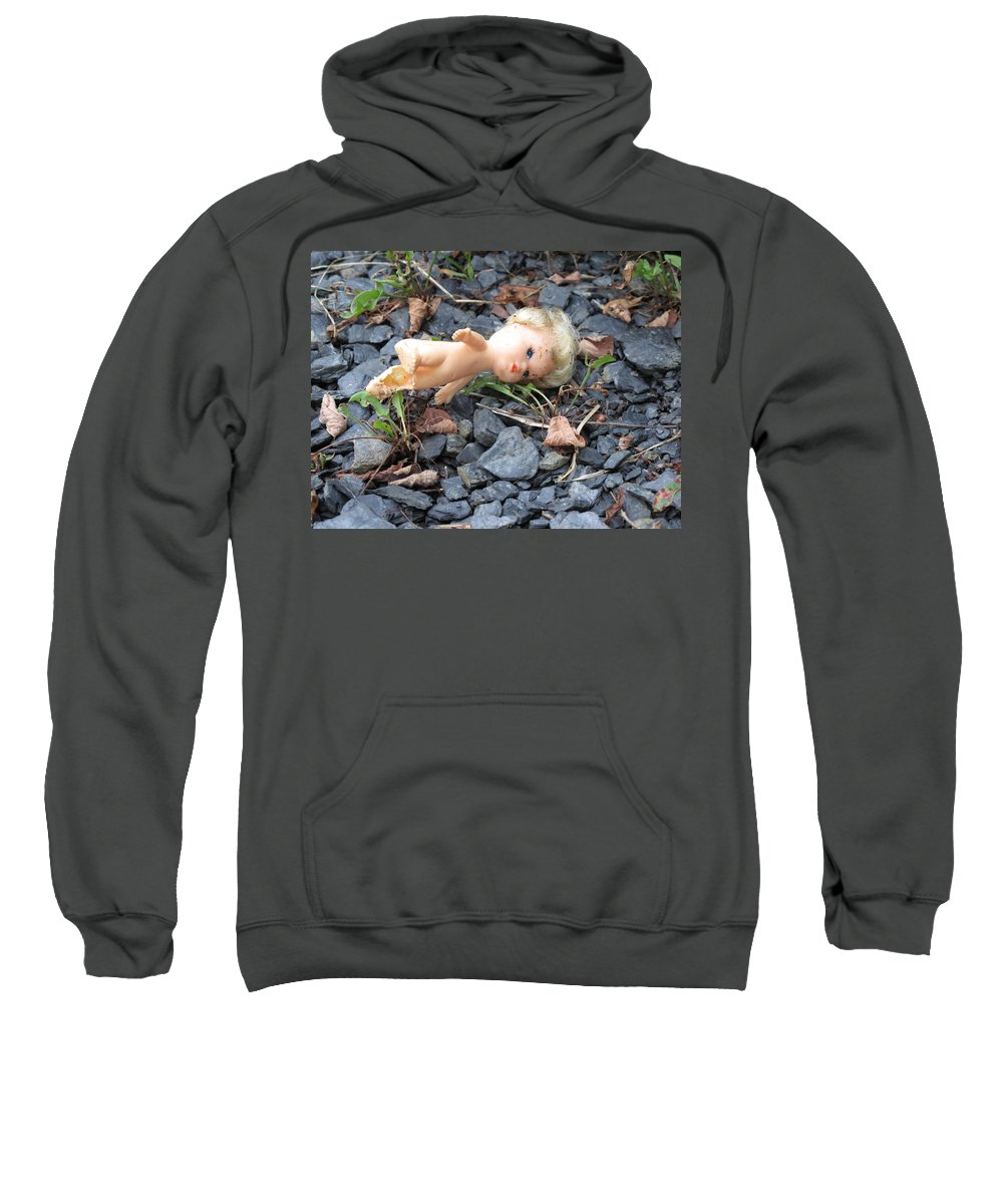 Doll Sweatshirt featuring the photograph Dolly by Michele Nelson