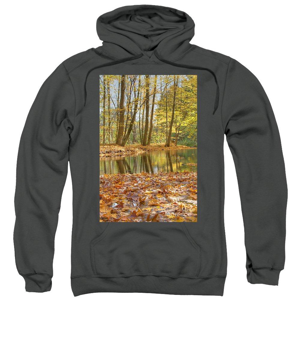 Fall Sweatshirt featuring the photograph Emerald Creek 2 by Robert Pearson