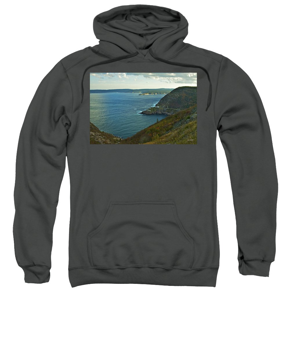 Canada Sweatshirt featuring the photograph Entrance To St. John's Harbour by Phill Doherty