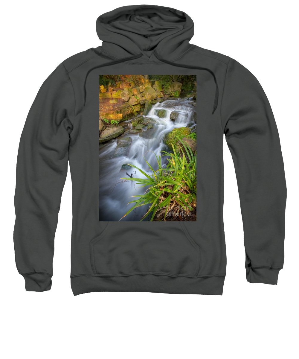 Yhun Suarez Sweatshirt featuring the photograph Even Flow 5.0 by Yhun Suarez