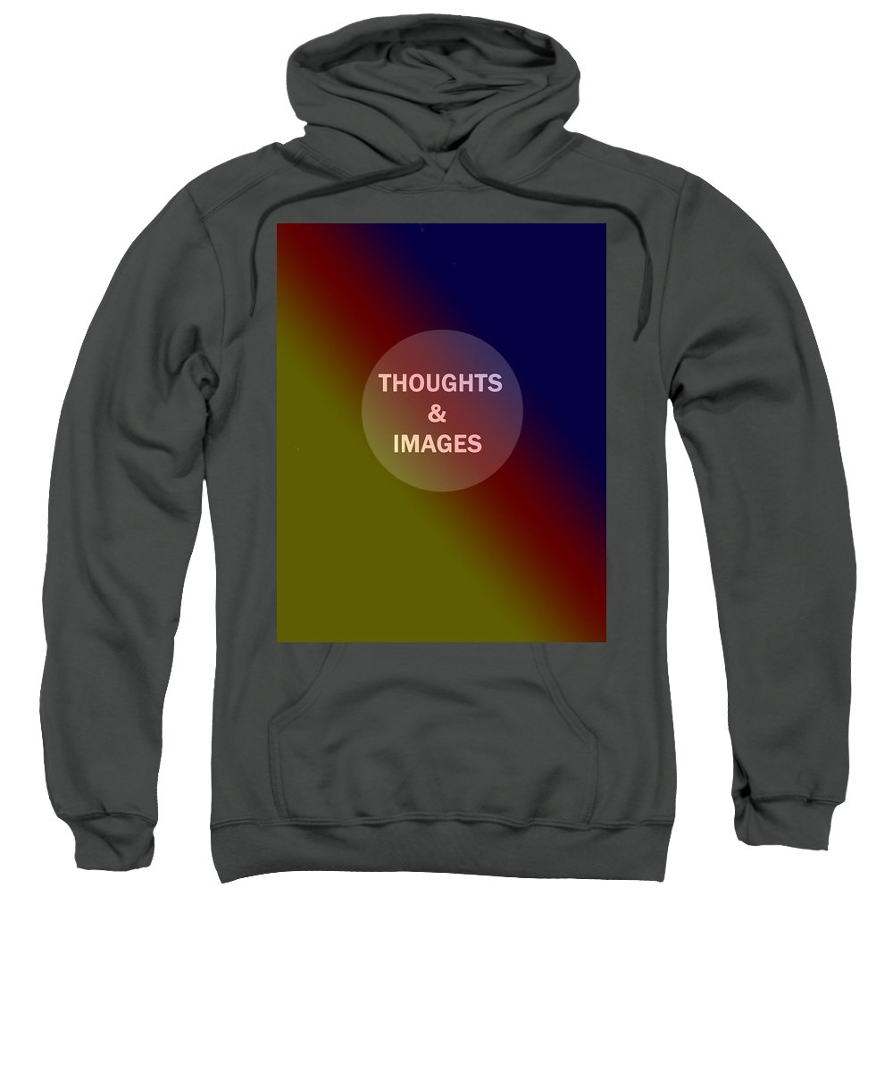 Sweatshirt featuring the digital art Face Plate For Gallery by Ian MacDonald