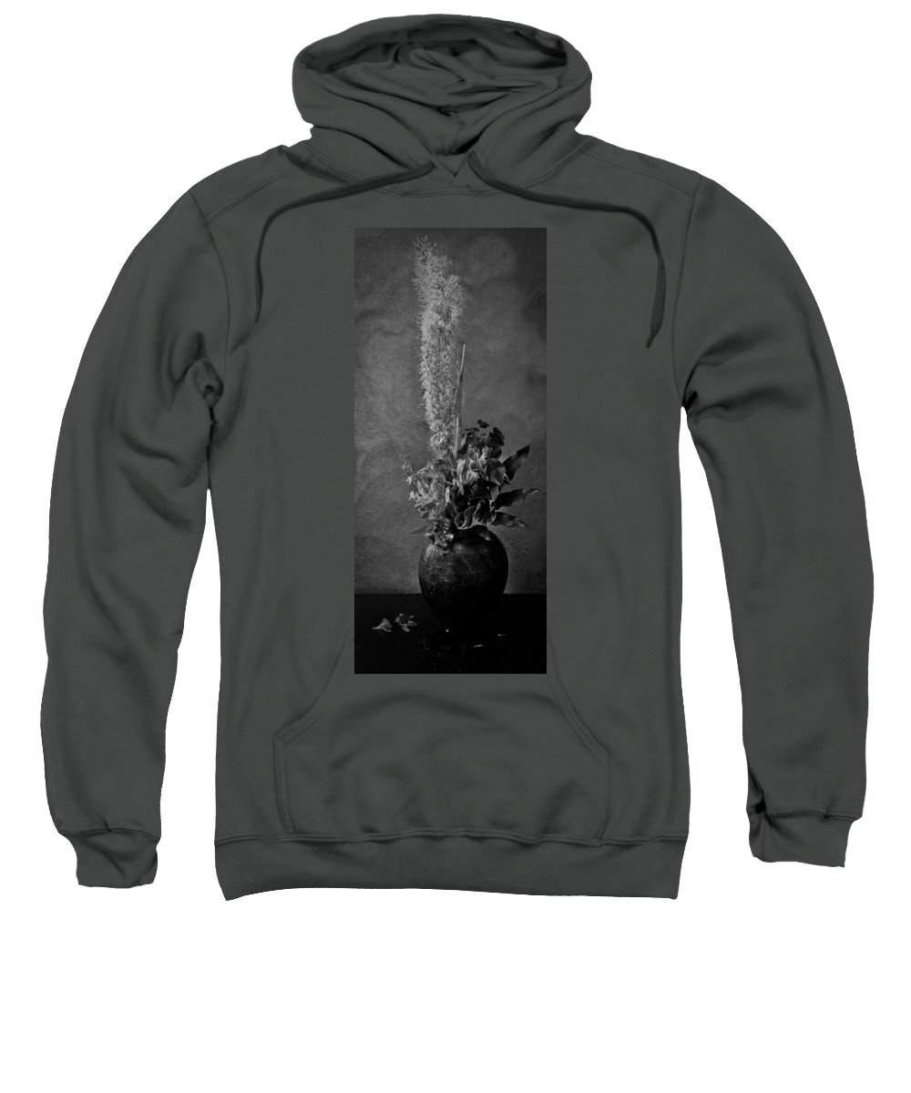 Decay Sweatshirt featuring the photograph Fading Life by Michele Mule'