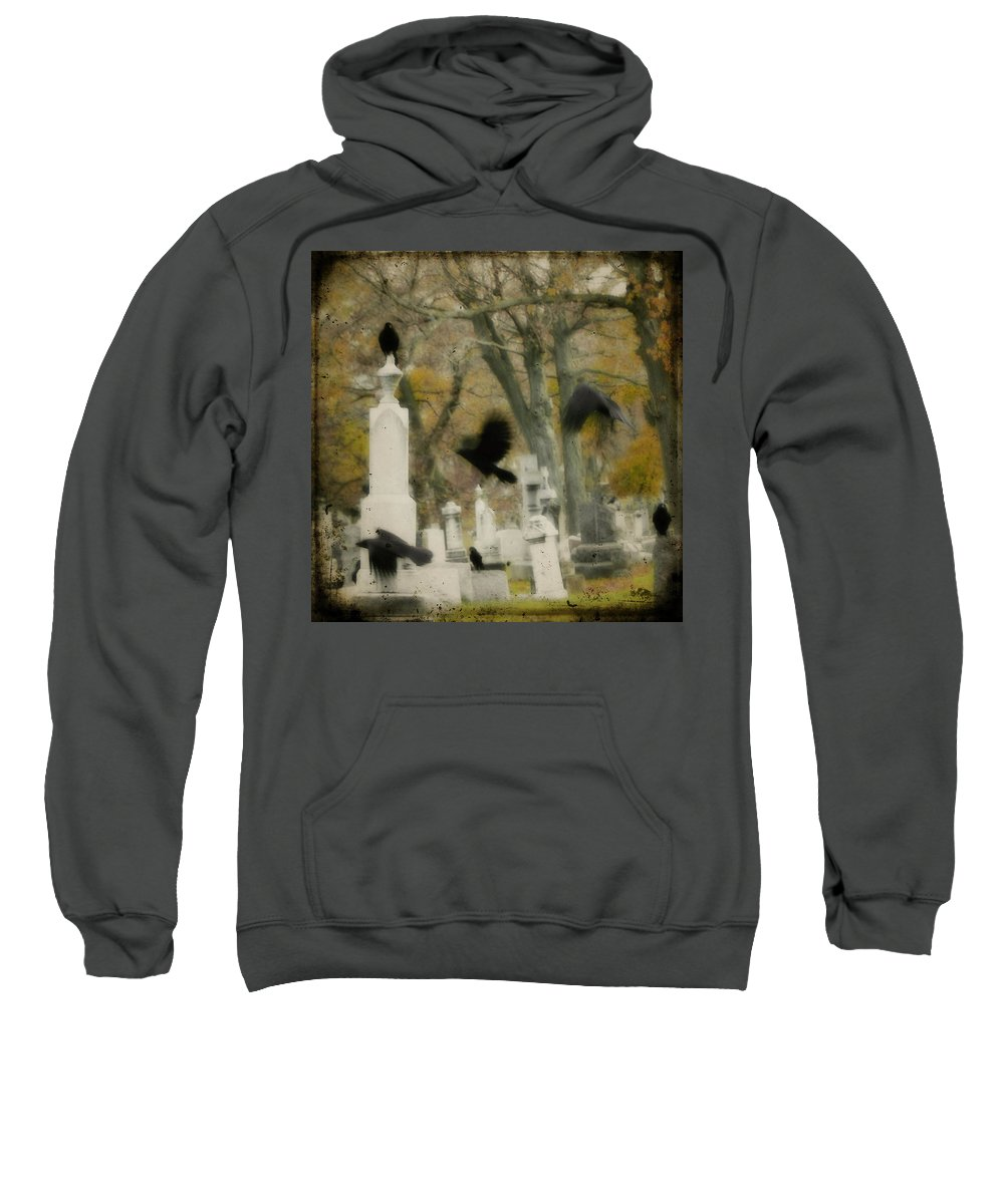Autumn Sweatshirt featuring the photograph Fall Fling by Gothicrow Images