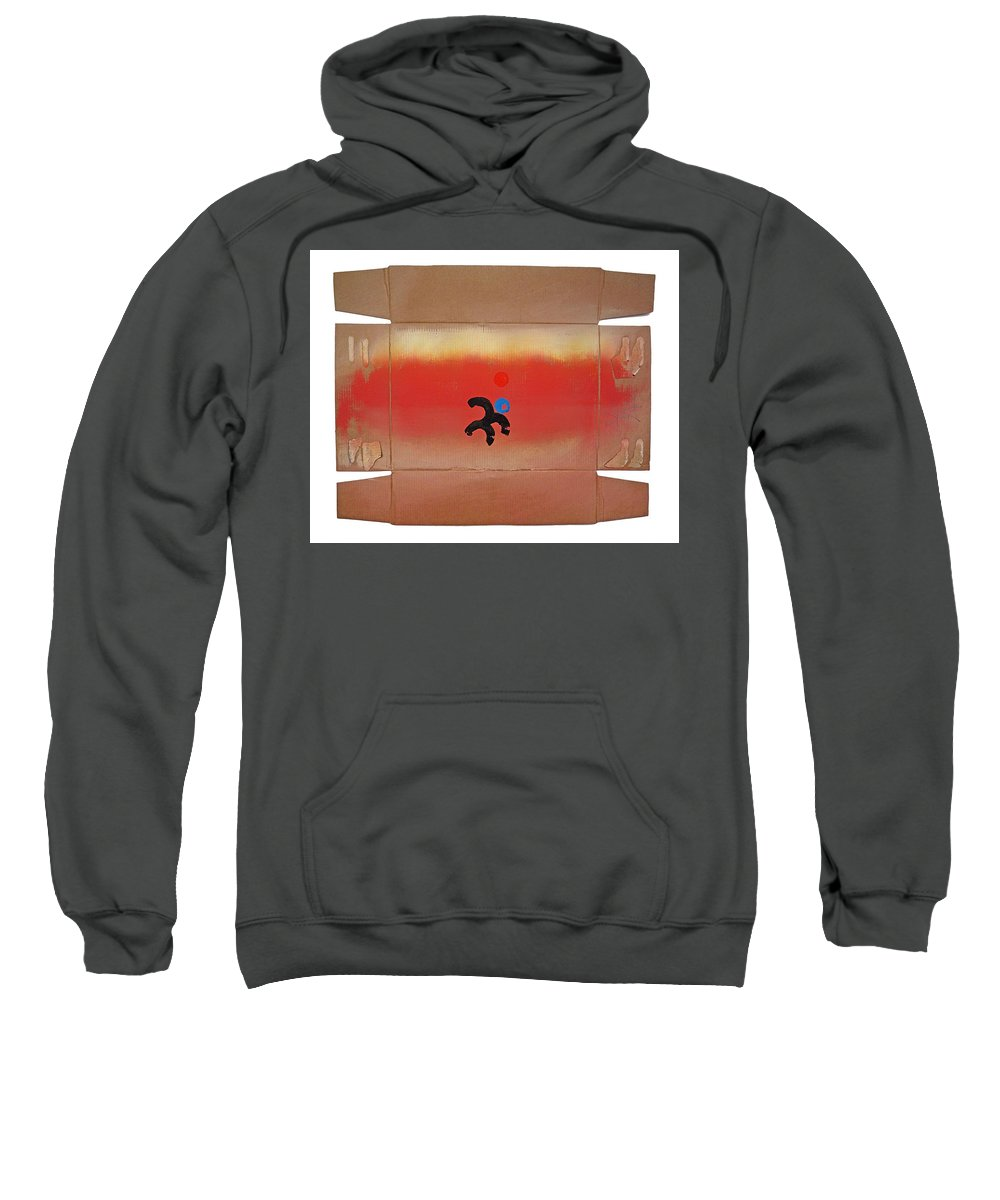 Africa Sweatshirt featuring the painting Figure In A Landscape by Charles Stuart