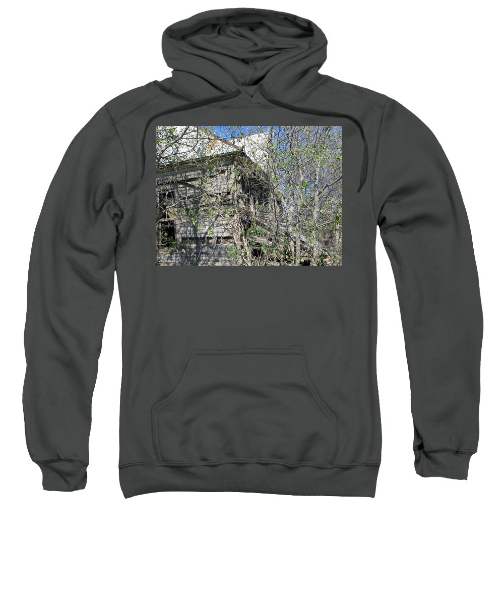 Sweatshirt featuring the photograph Forgotten 5 by Amy Hosp