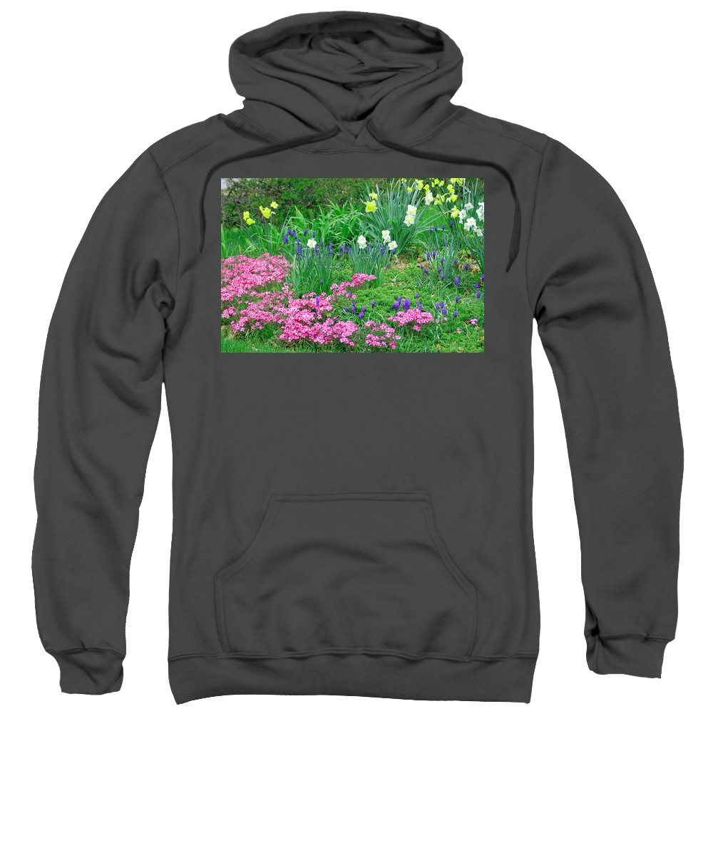 Flower Sweatshirt featuring the photograph Garden Escape by Aimee L Maher ALM GALLERY