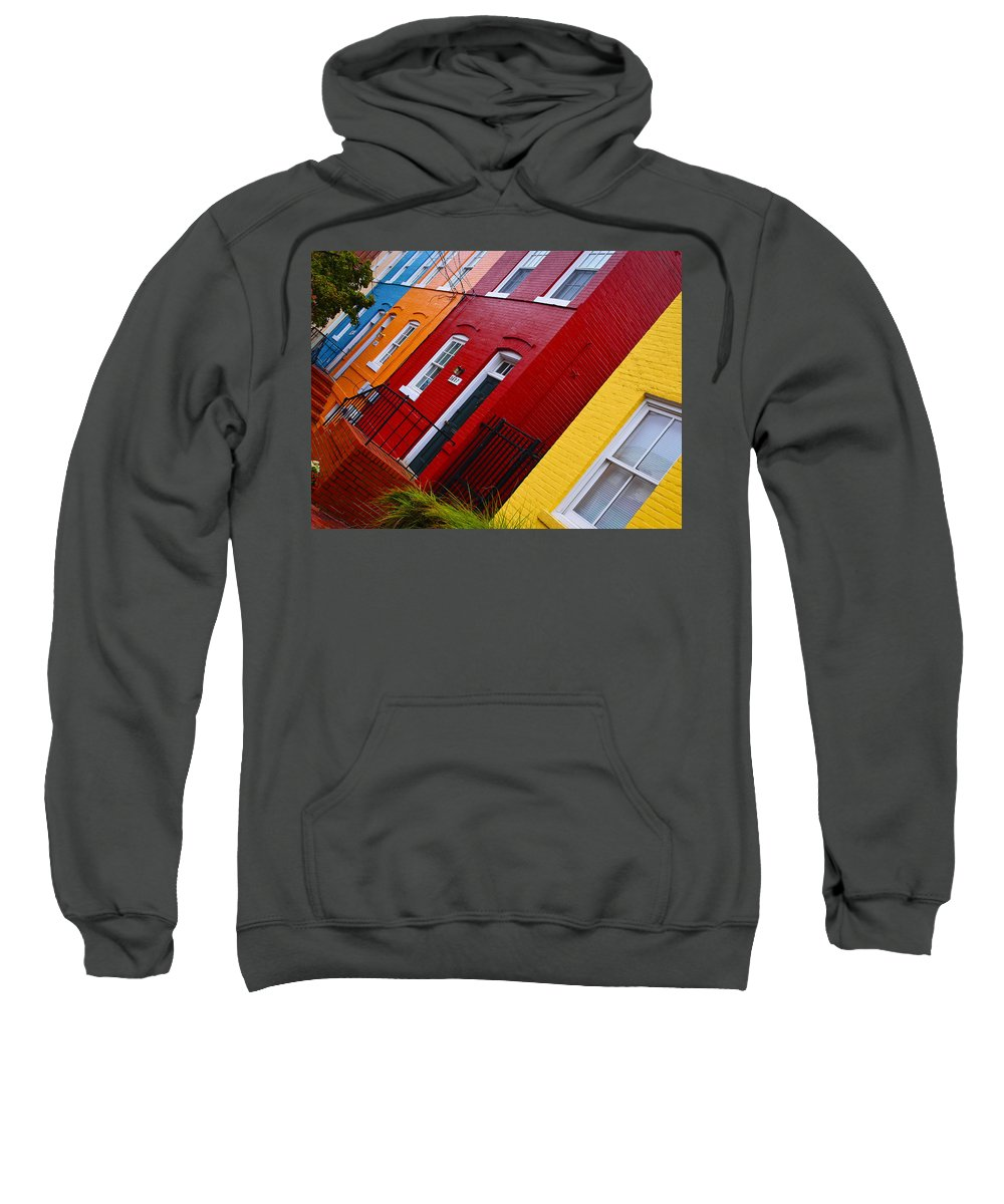 Georgetown Races Sweatshirt featuring the photograph Georgetown Races by Skip Hunt