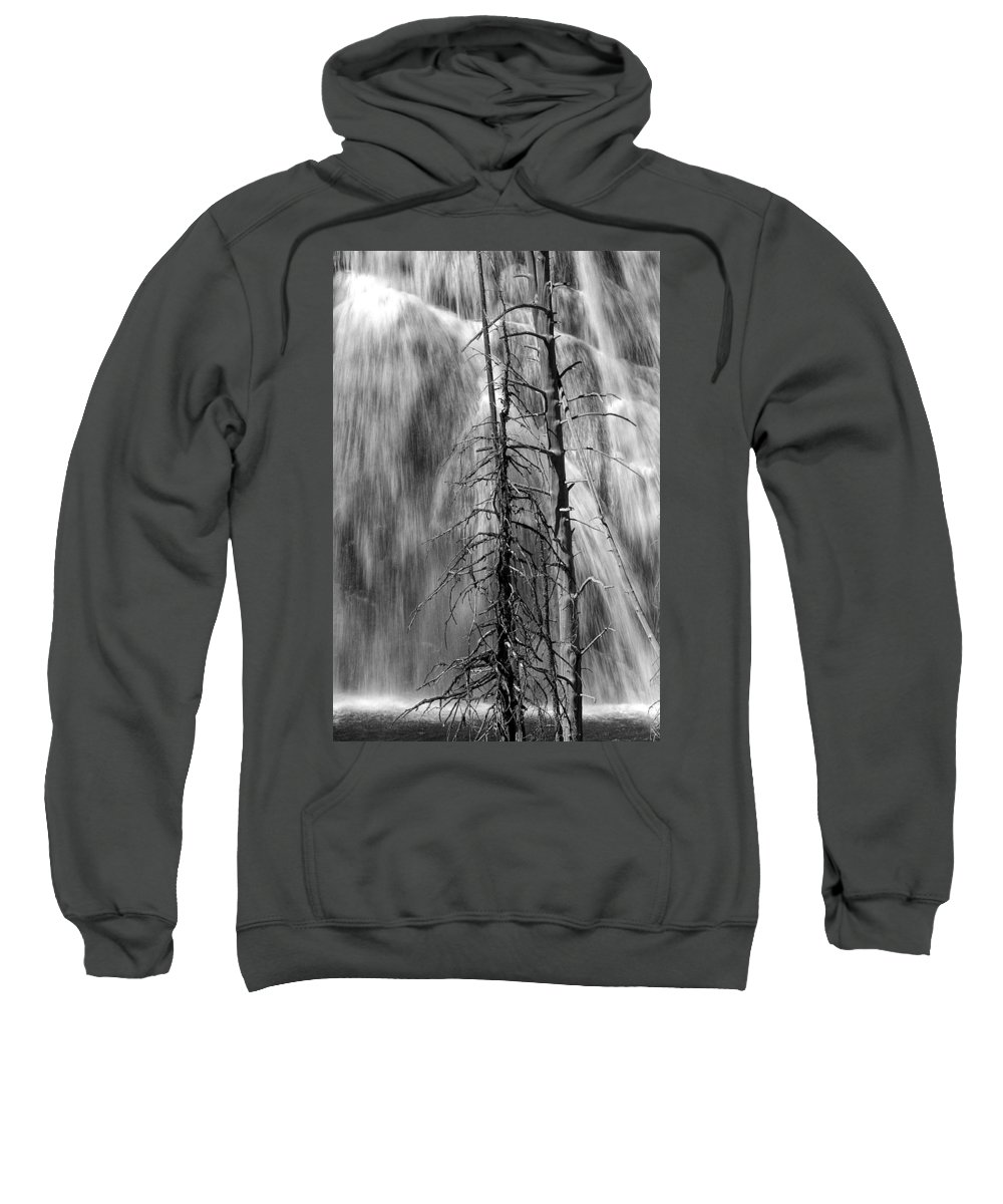 Art Sweatshirt featuring the photograph Gibbons Falls In Yellowstone National Park by Randall Nyhof