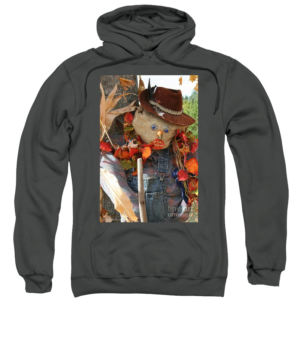 Outdoors Sweatshirt featuring the photograph Glassy Eyes by Susan Herber