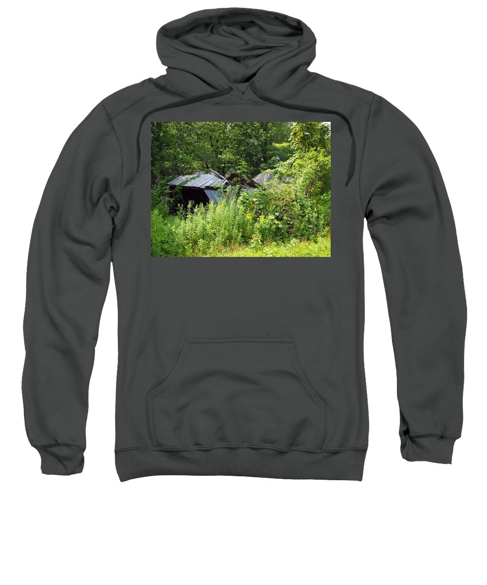 Farm Animals Sweatshirt featuring the photograph Good Wood by Robert Margetts