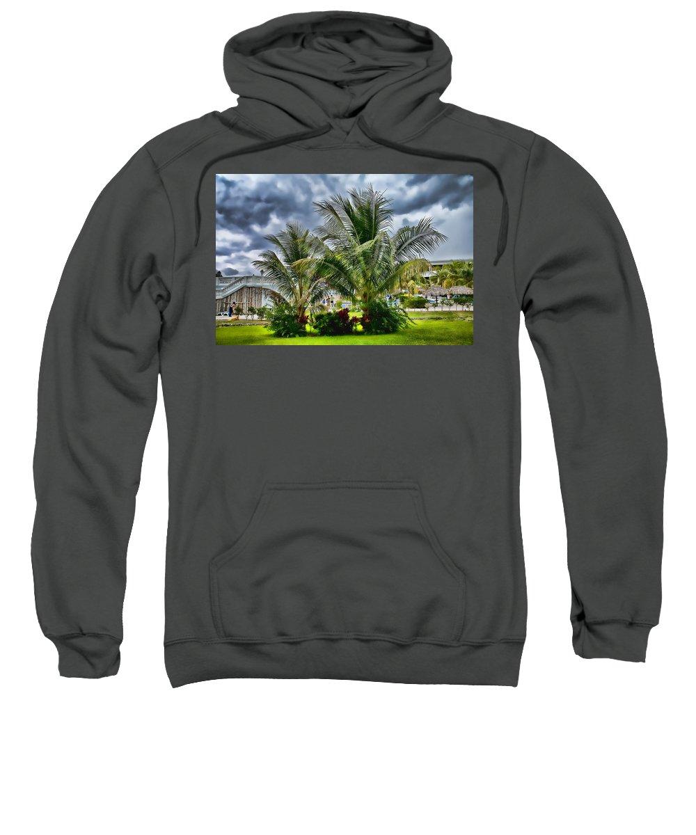 Jamaica Sweatshirt featuring the photograph Grand Palladium Heaven by Sheri Bartoszek