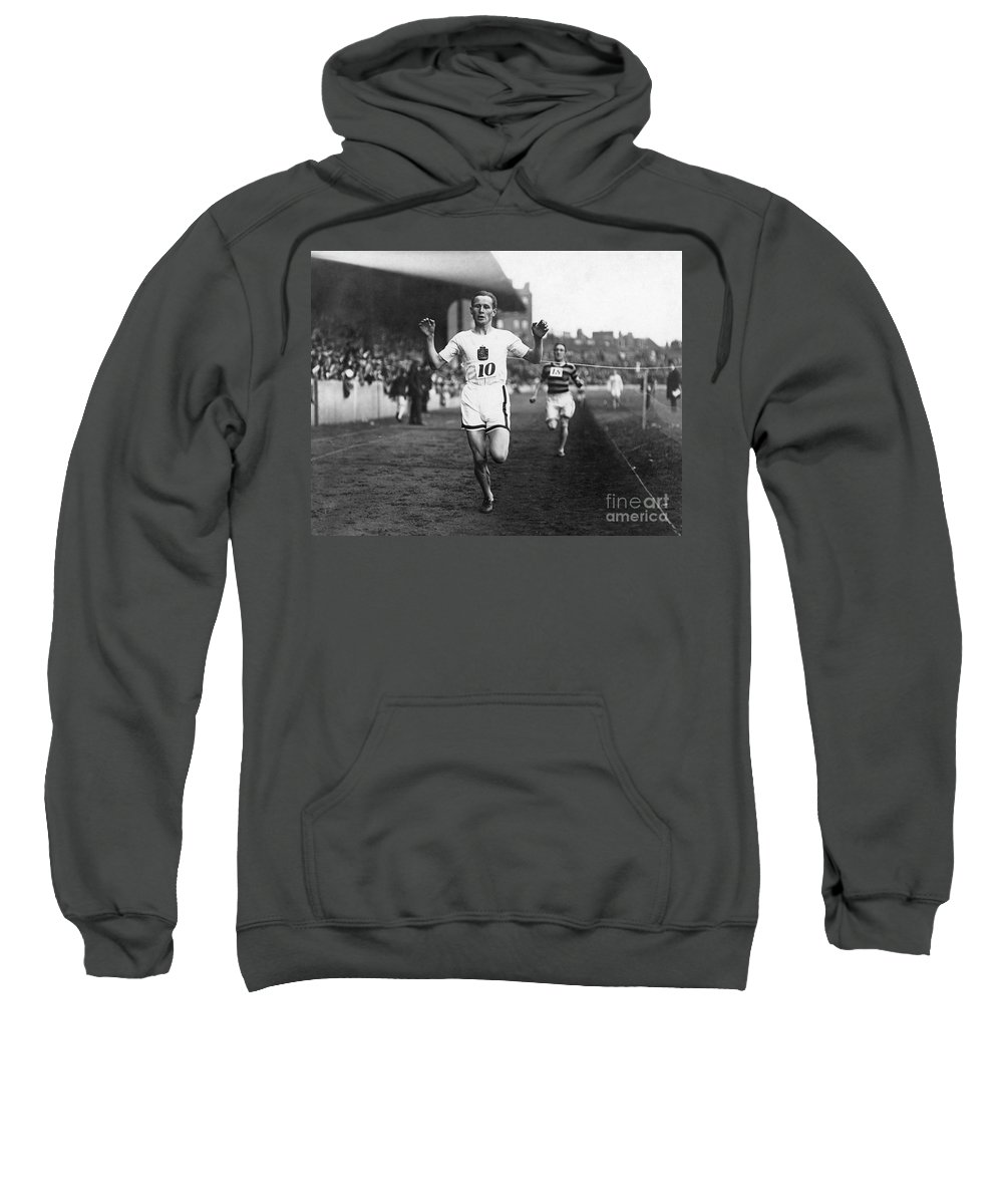 20th Century Sweatshirt featuring the photograph Hannes Kolehmainen by Granger