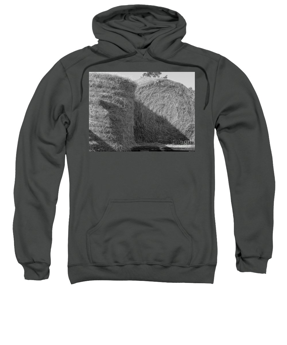 Hay Sweatshirt featuring the photograph Hay by Michelle Powell