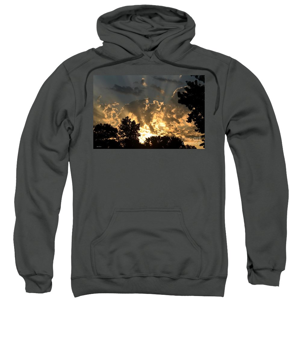 He Is Sweatshirt featuring the photograph He Is by Maria Urso