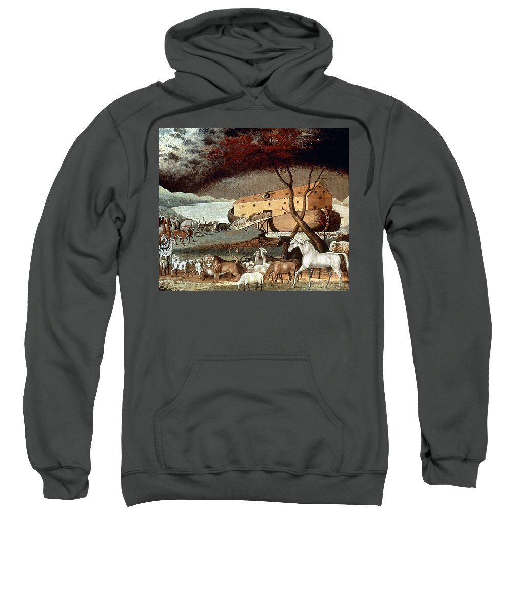 19th Century Sweatshirt featuring the photograph Hicks: Noahs Ark, 1846 by Granger