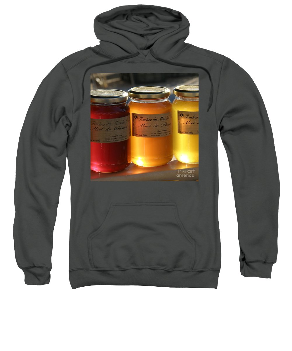 Honey Sweatshirt featuring the photograph Honey by Lainie Wrightson
