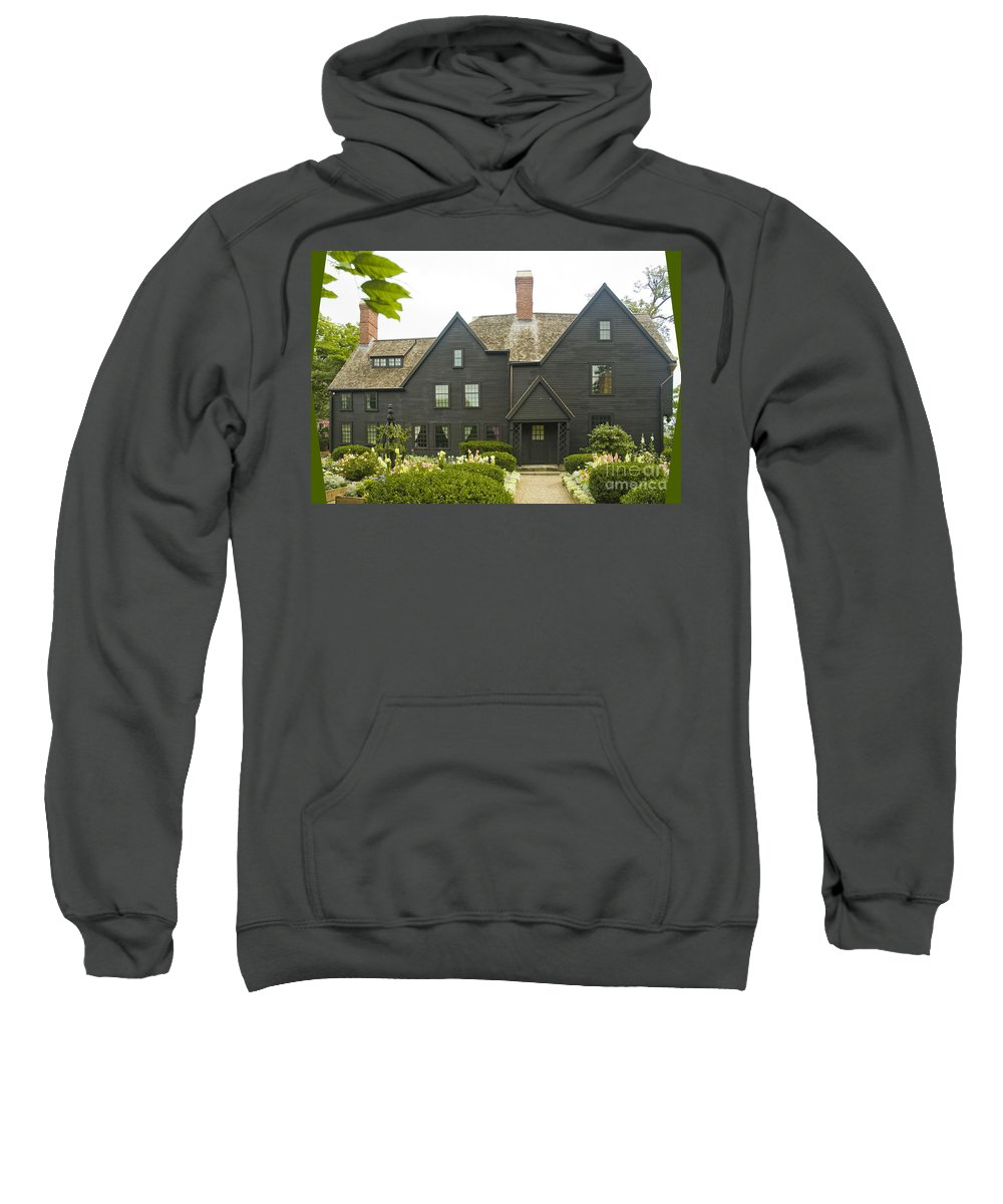 House Of Seven Gables Sweatshirt featuring the photograph House Of 7 Gables by Tim Mulina
